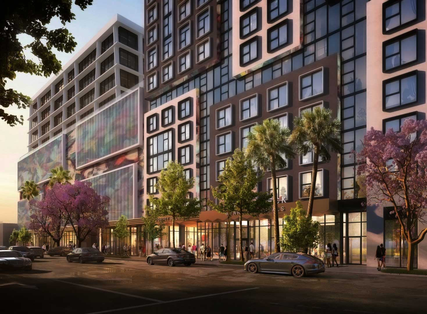 Related, W5 Group plan 'co-living' project in Miami's Wynwood