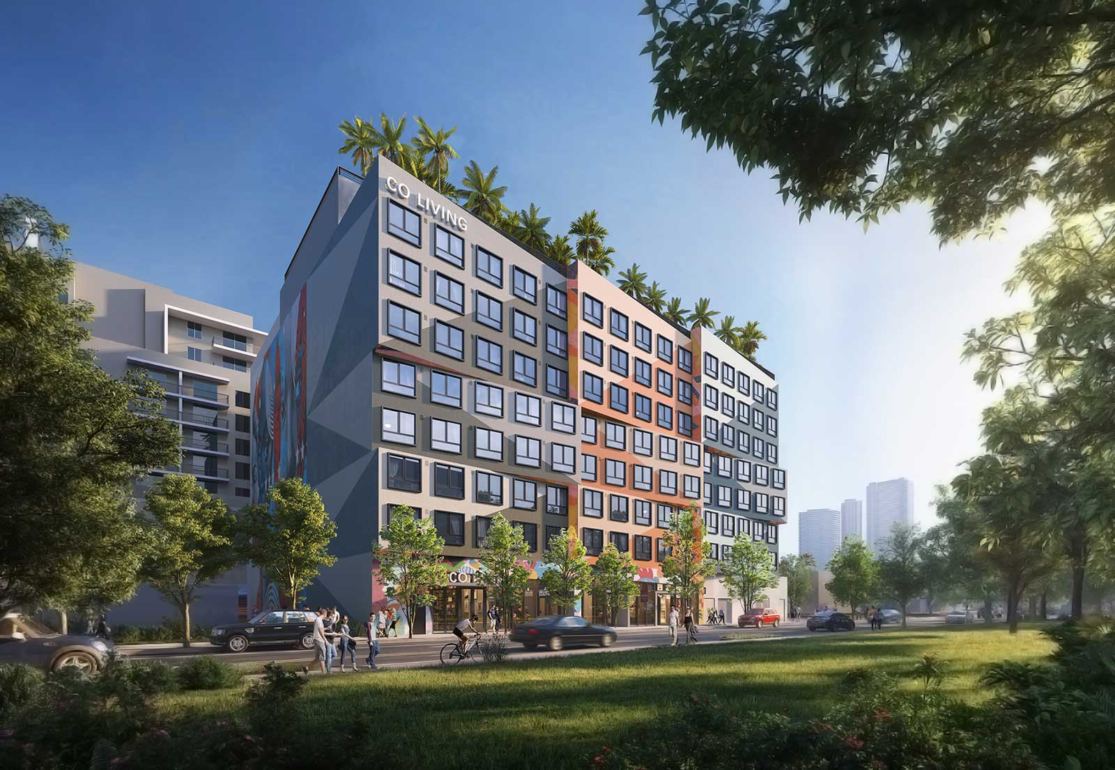 Co-living units to form part of Miami mixed-use scheme